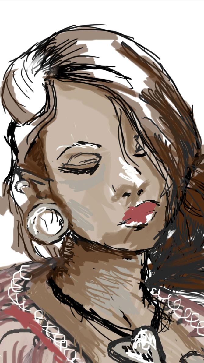May 25th closeup of face by bassgeisha