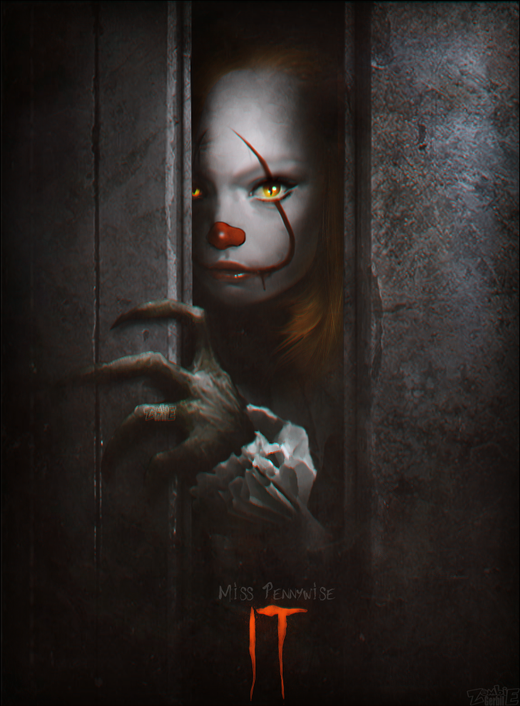 Miss Pennywise by ZombieGerbil