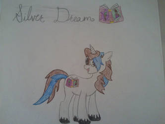 Silver Dream - Pony by Ashes-and-Infernos