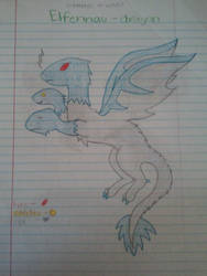 Some Dragon Thing by Ashes-and-Infernos