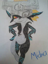 Midna - LoZ by Ashes-and-Infernos