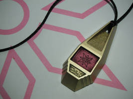 Digimon Tag with Kari's Crest of Light (view 1)