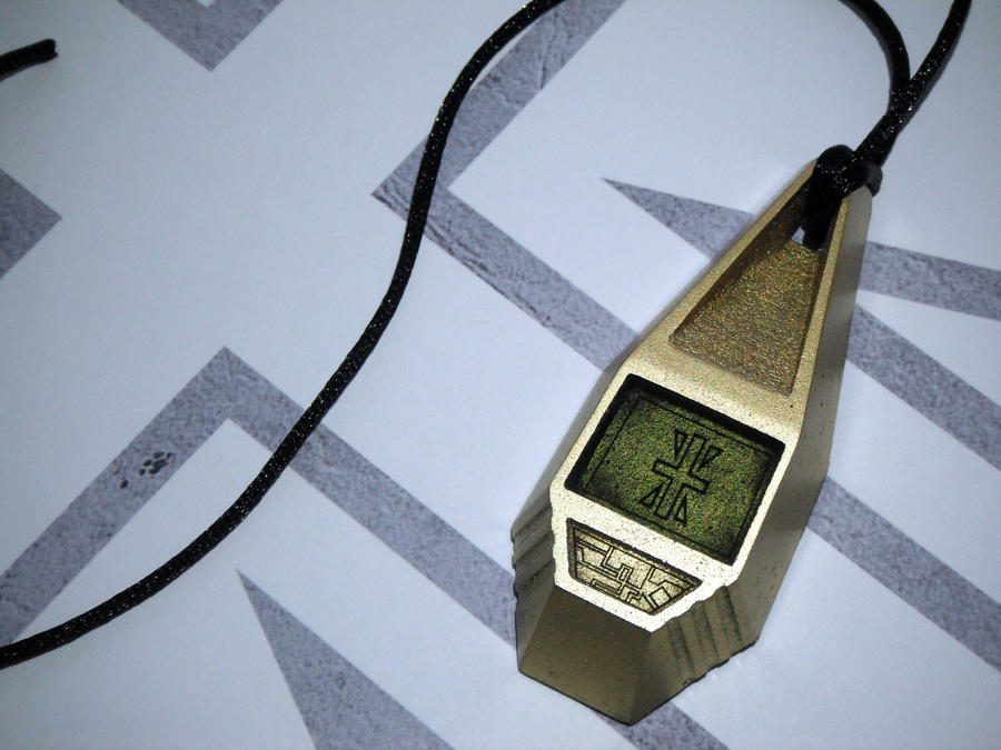 Digimon Tag with Joe's Crest, Reliability (view 2) by ChinookCrafts