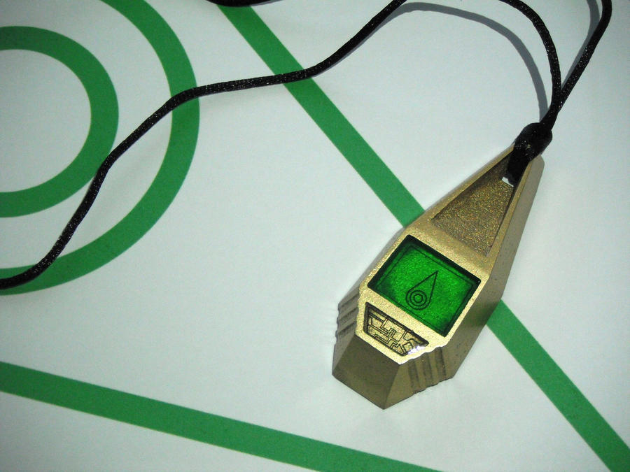 Digimon Tag with Mimi's Crest, Sincerity (view 1) by ChinookCrafts