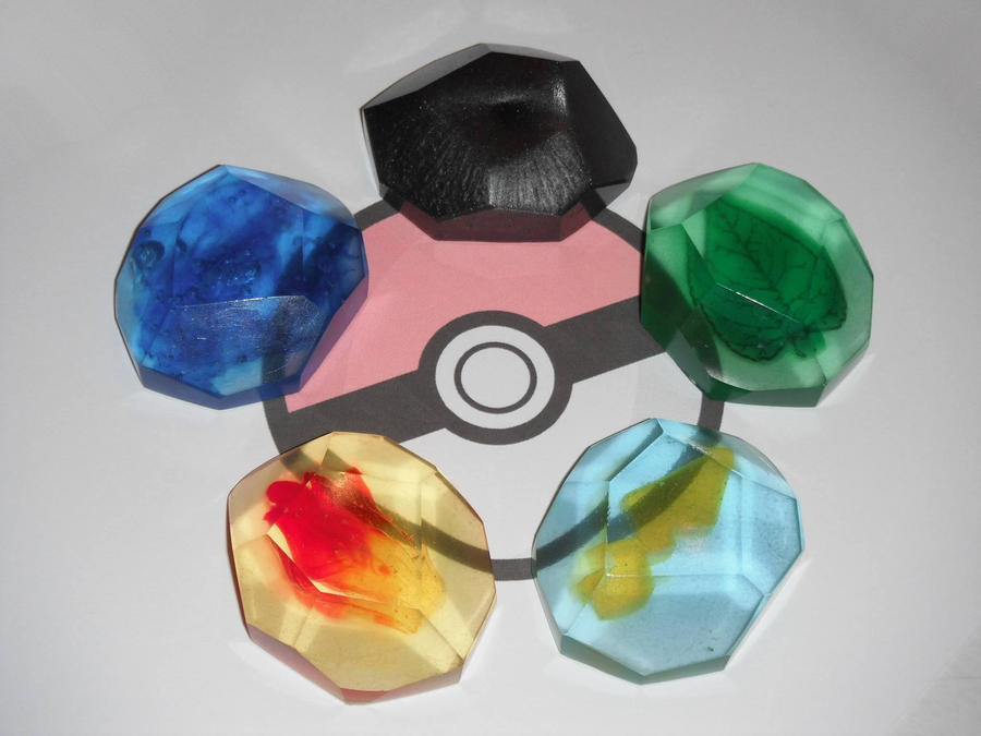 Pokemon Evolution Stones - (New Version!) by ChinookCrafts