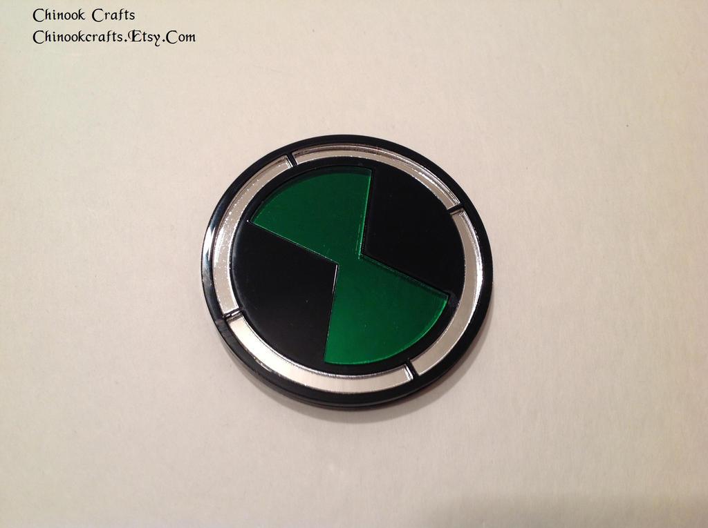 Ben 10 Plumbers Badge Omnitrix Symbol By Chinookcrafts On Deviantart