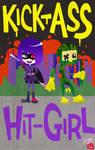 KICK-ASS and HIT-GIRL