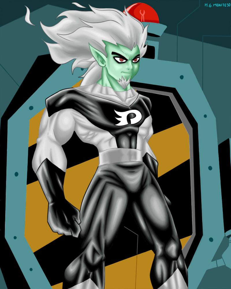 evil danny phantom by hersly860