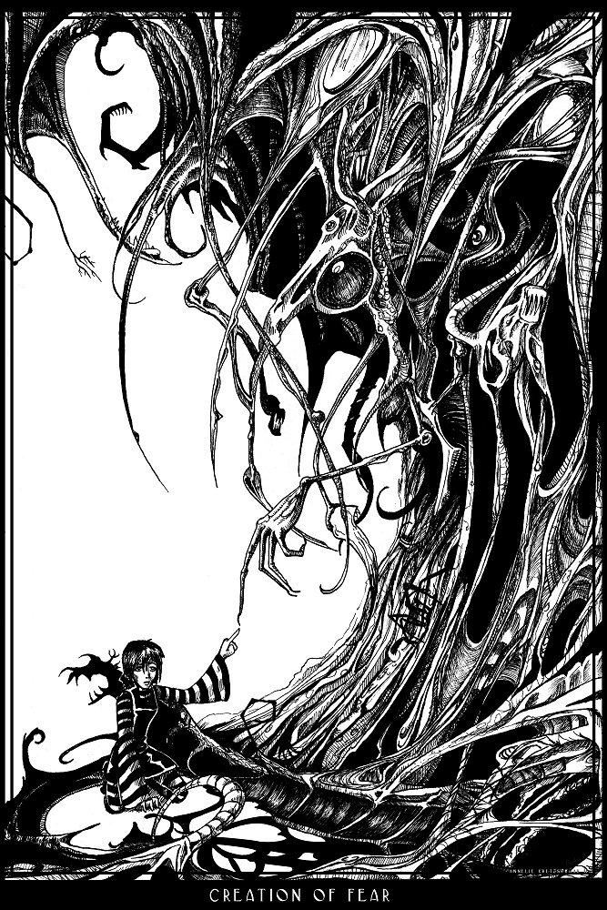 Creation of fear by gabrieldevue
