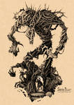 Dungeons and Dragons Monster I Needle Blight