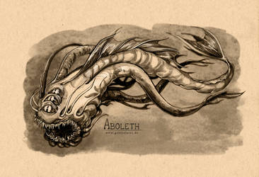 Dungeons and Dragons Monster III Aboleth