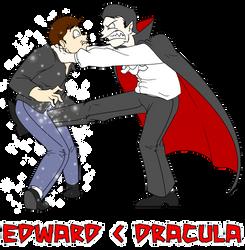 Edward Vs. Dracula by Sprech4