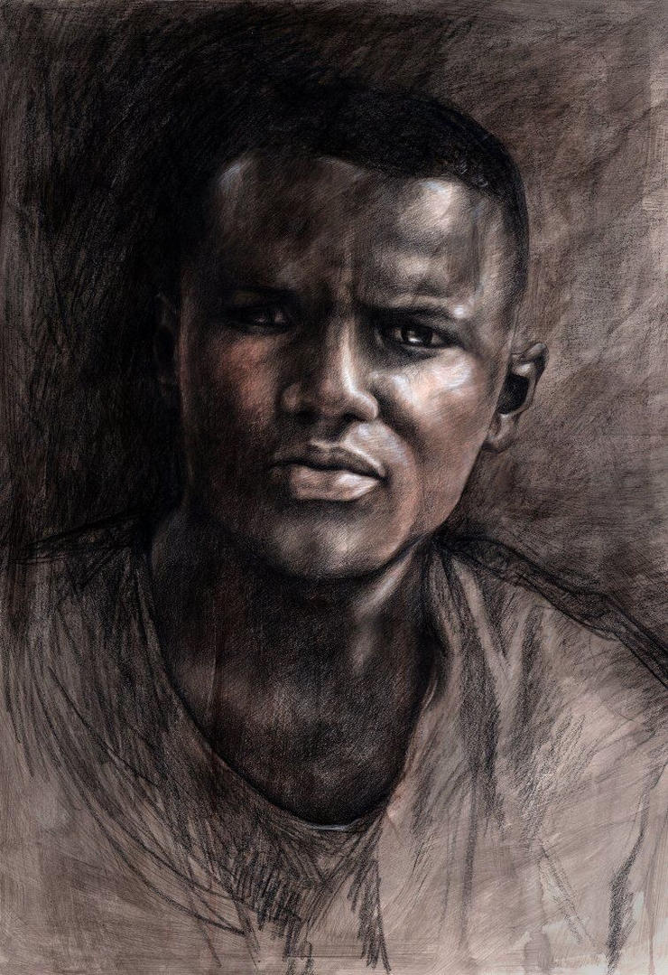 A Portrait of Freddie Gray by Elsma