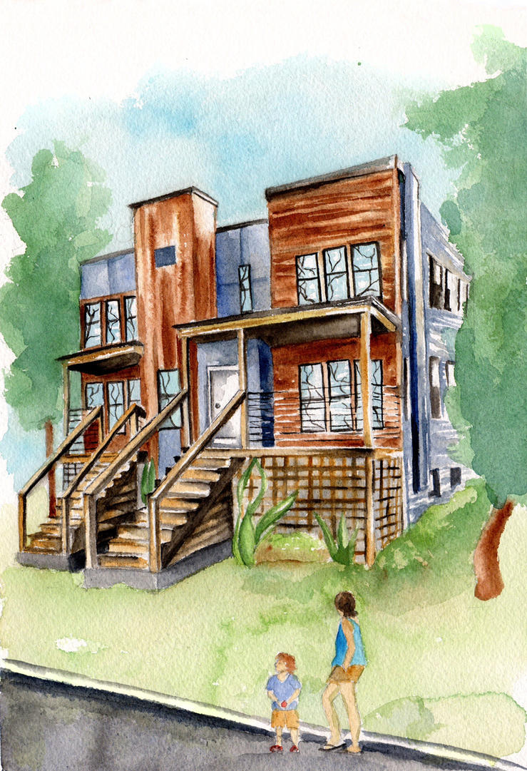 Real Estate Rendering by Elsma