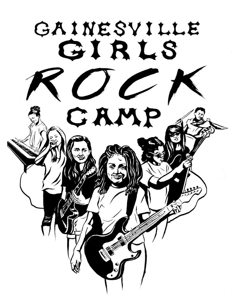 Girls Rock Camp by Elsma
