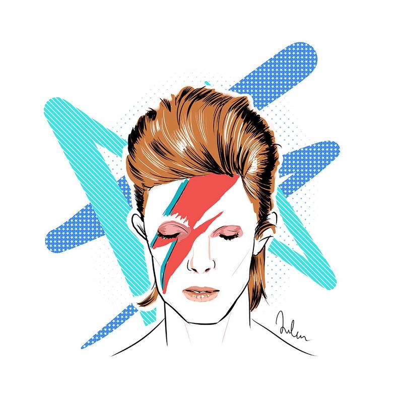 Ziggy Stardust by helenesse