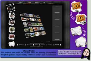 DFocus Studio's Website by MatanArie