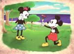 Mickey love Minnie