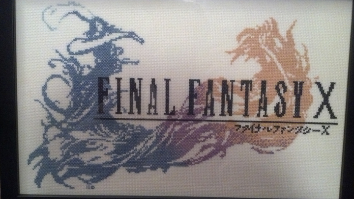 Final Fantasy X Cross Stitch by kairi-chan16