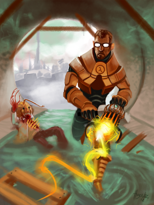 15 Days Video Game Characters Gordon Freeman By Duckazoid