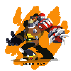 Collab - GrizzlySlash Mega Man X5