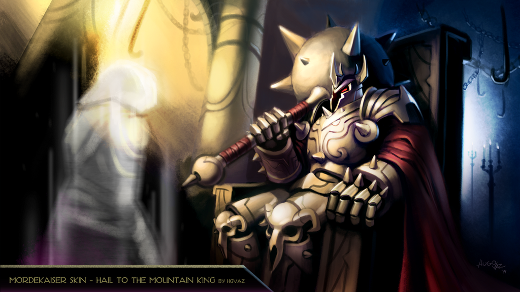 Mordekaiser hail to the mountain king by duckazoid on deviantart mordekaiser hail to the mountain king by duckazoid voltagebd Images