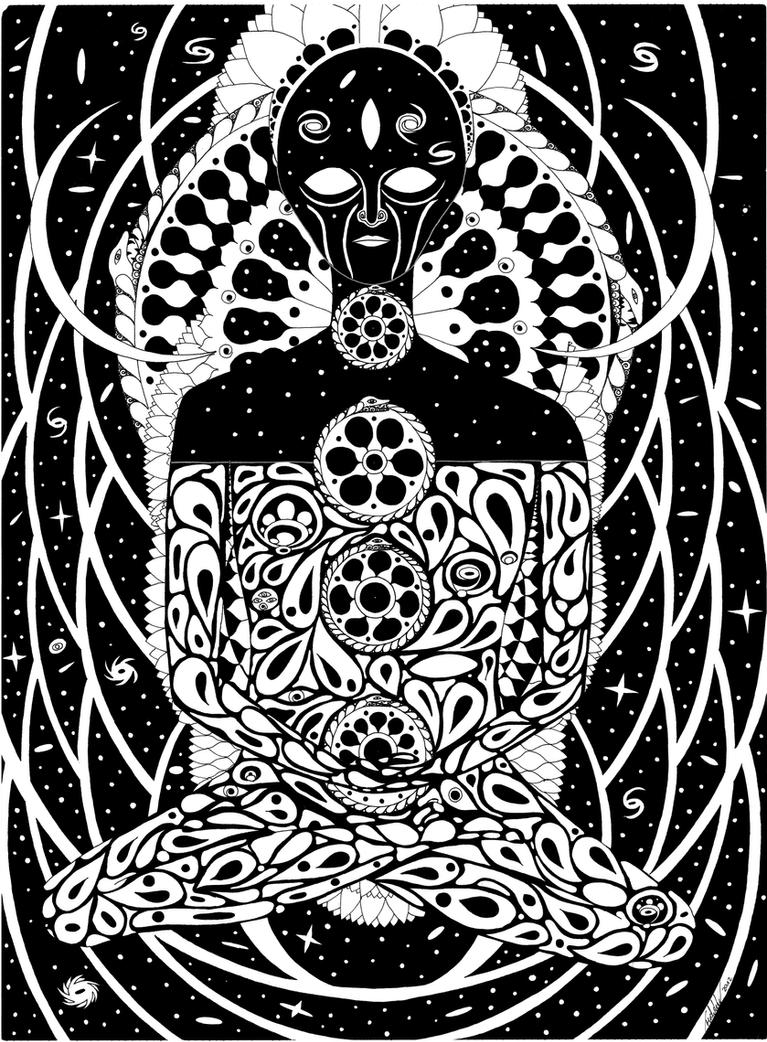 Alienbuddha by ErichMuhsam