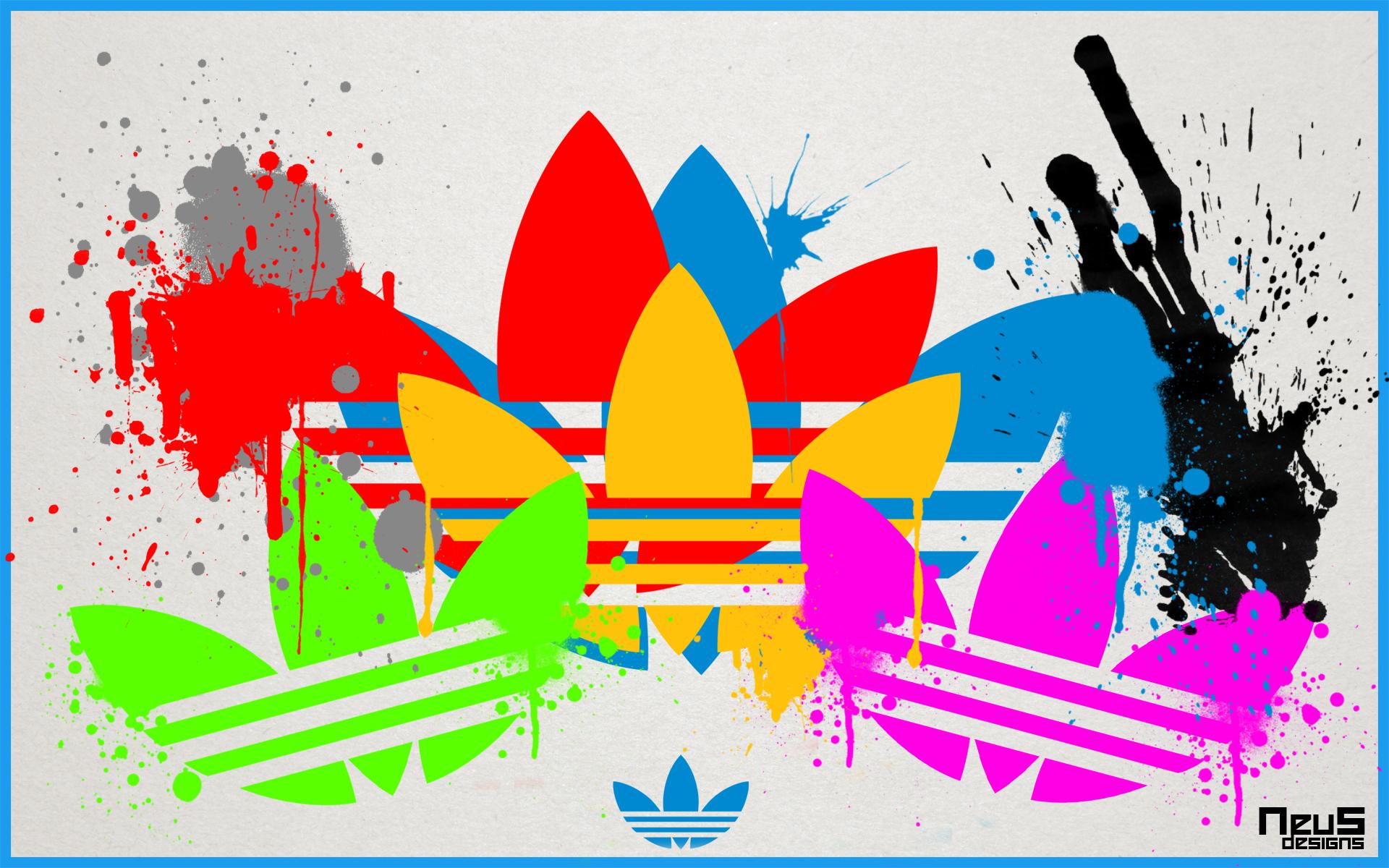 Adidas Originals Splatter Wallpaper By Neus2010 On