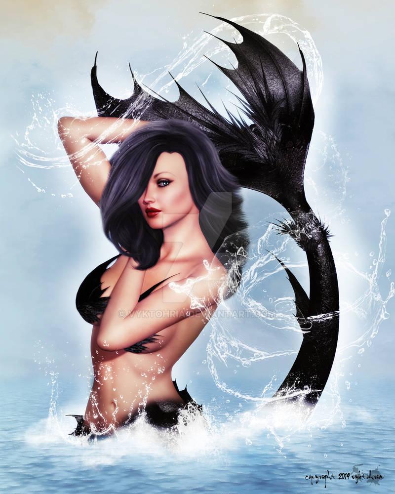 Pin-Up Mermaid