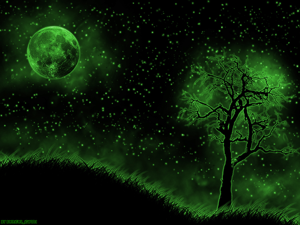 Green night sky by burgulgoth on deviantart for Silverleaf com
