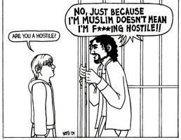 Sayid and Little Benry by ElfceltRJL