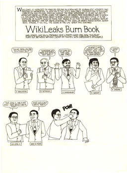 WikiLeaks Burn Book Part 1