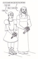 Thor and Loki and the Wedding by ElfceltRJL