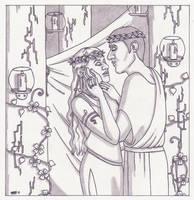A Midsummer Night's Dream: Titania and Oberon by ElfceltRJL