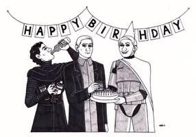A First Order Birthday by ElfceltRJL