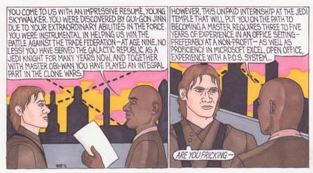 Anakin's Job Search by ElfceltRJL