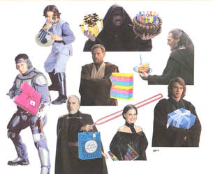 A Very Prequels Birthday by ElfceltRJL