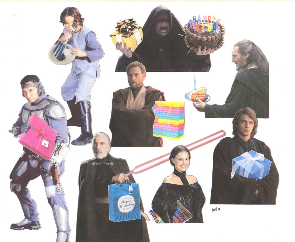 A Very Prequels Birthday by ElfceltRJL
