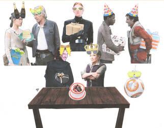 A Very Sequels Birthday by ElfceltRJL