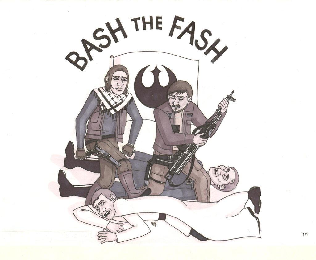 Bash the Fash by ElfceltRJL
