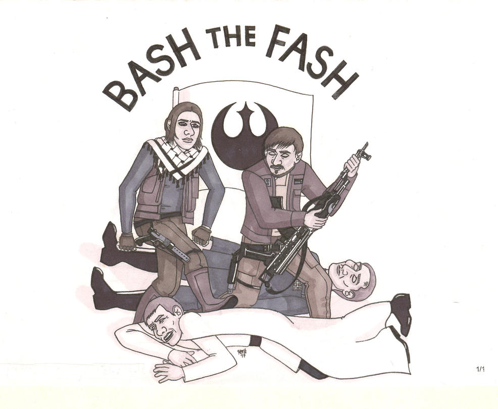Bash the Fash by ElfceltRJL