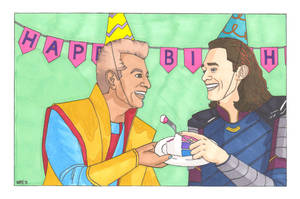 A Loki and Grandmaster Birthday