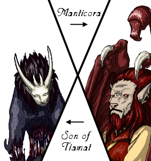 Son of Tiamat, Manticora - iS