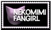 Stamp - Nekomimi Fangirl by KaizenNeko