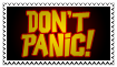 Stamp - DON'T PANIC!