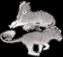 Feline Fabio by Crissiesaurus