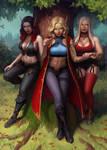 Alea, Aniah and Serana