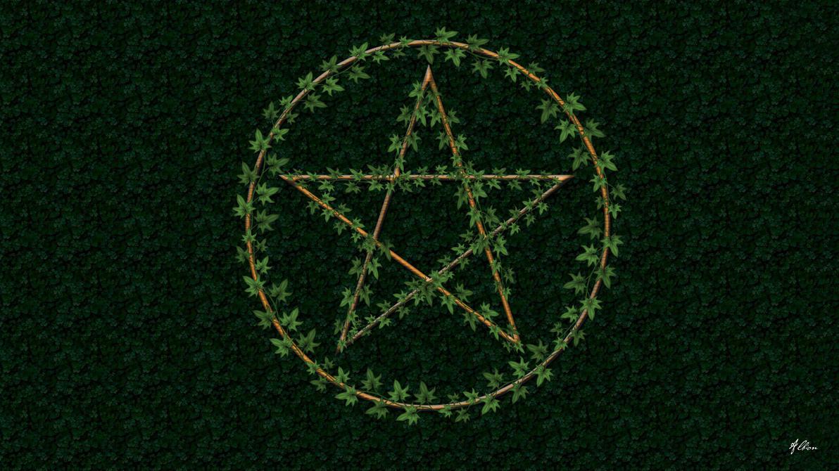 wiccan pentagram wallpaper - photo #11