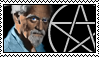 Gerald Gardner Series - Stamp 1 by The-Pagan-Gallery