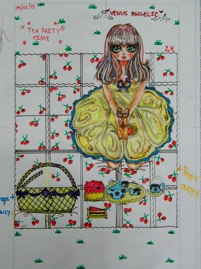 My version of Venus Angelic by juvriel